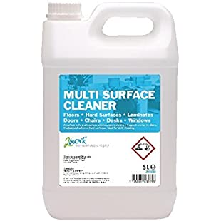 2Work 2W03985 5 L Multi-Surface Cleaner Concentrate, Pack of 1