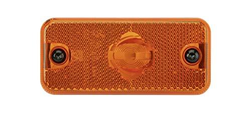 DT Spare Parts Seitenmarkierungsleuchte orange 5.81152 Lb: 84 mm, L: 110 mm, H: 50 mm, T: 18 mm Markierungsleuchte für LKW, Bus, Transporter