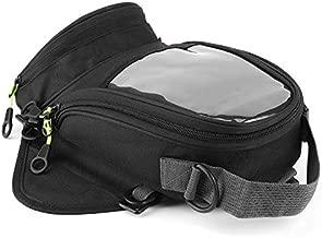 Motorcycle Engine Tank Bag, Waterproof Fuel Tank Bag Magnet Navigation Saddlebag Large Transparent Window Backpack