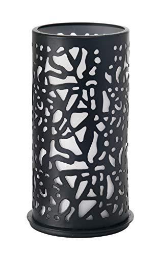 DUNI 186424 Kerzenhalter, Metall, 140 x 75 cm, drehbar, schwarz