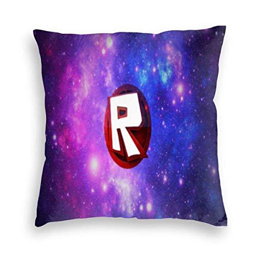 N/A Ro-blox Universe Square Throw Kissenbezüge Sofa Kissenbezug Home Decor für Schlafzimmer Wohnzimmer Auto Geschenk