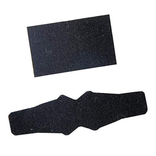 N/A/a 2 Unids/Set de Flecha de Tiro con QAD Ultra-Rest HDX Antiabrasión Etiqueta Antideslizante