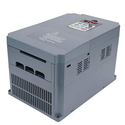 Oumefar 0-380V Salida trifásica 7.5KW Inversor de frecuencia Variable Controlador de frecuencia Variable 220V Entrada monofásica para Equipos de máquinas