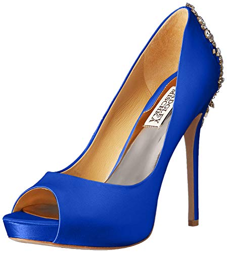 Badgley Mischka womens Kiara Dress Pump, Sapphire, 8.5 US