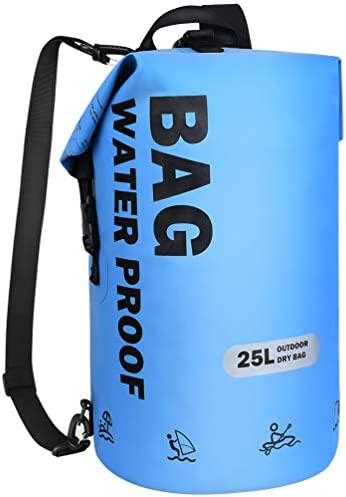 VBG VBIGER Dry Bags Waterproof Backpack 25L PVC Beach Bucket Bag Floating Dry Backpack for Swimming product image