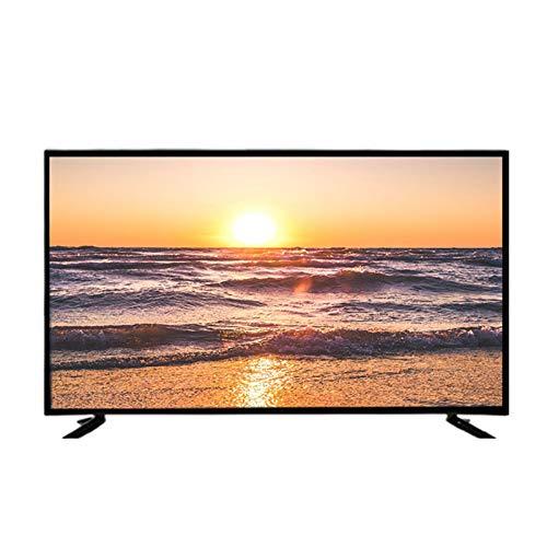 QINGZHUO Smart TV 4K HD, frecuencia de actualización de 50Hz, Memoria de 8G, conexión inalámbrica WiFi Compatible, reproducción de Medios USB.