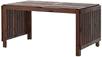 Amazon.com - TZRVXQ Solid Wood Dining Table ,Nordic Folding ...