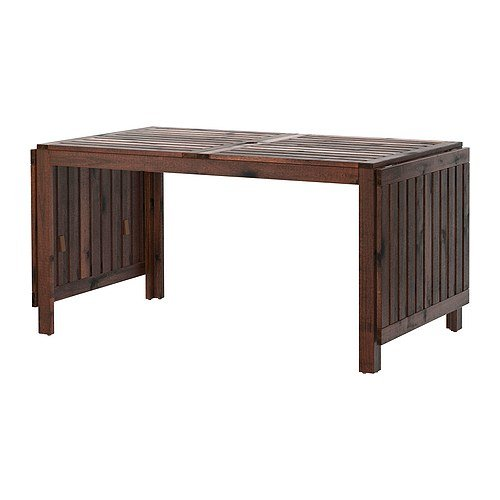 IKEA APPLARO,Drop-leaf table, brown