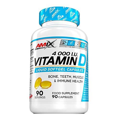 Amix Performance Vitamin D 4000 I.U. 90 Caps 200 gr
