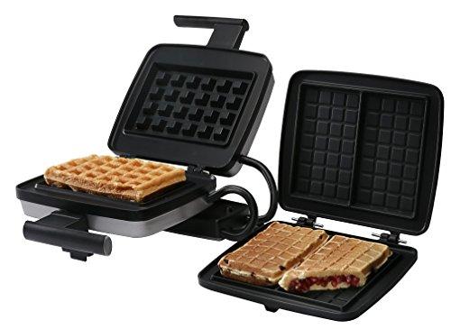 Croquade U11001 Belgian Waffle Maker Bundle, includes Belgian Waffle Plate and Stuffed Waffle Plate (Discontinued by Manufacturer)