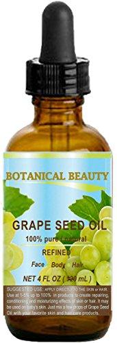 Olio di semi d'uva, 100% puro/naturale/non diluito spremuto a freddo per...