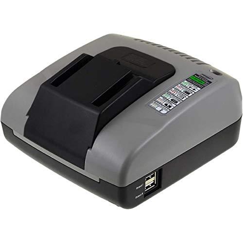 akku-net Lader met USB voor AEG Haakse Slagmoersleutel BSS 12 RW, 7,2V-18V