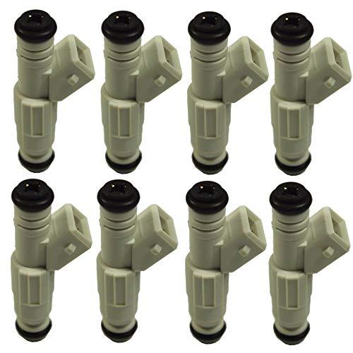 Сompatible with 36lb Fuel Injectors New Set (8) for Ford 380cc GM V8 LS1 LT1 5.0L 5.7L