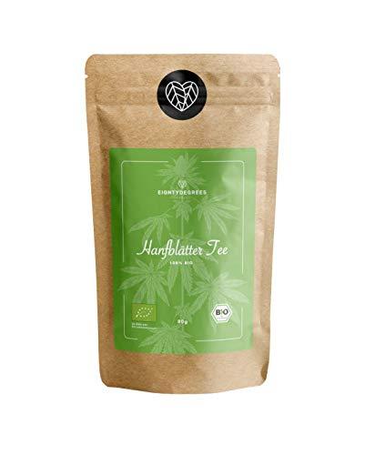 BIO Kräutertee - loser Abend-Tee - natürlicher Kräutertee in Premium Qualität - milder angenehmer Geschmack - 80g   80DEGREES