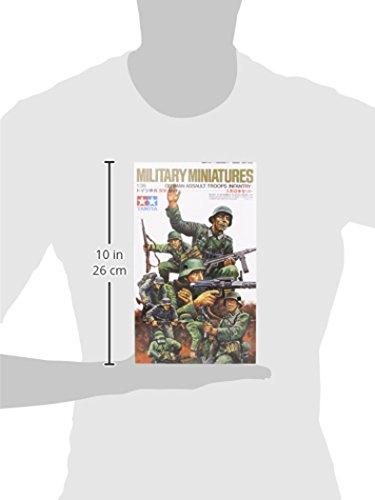 Tamiya 300035030–1: 35WWII German Infantry Figure Set (8)