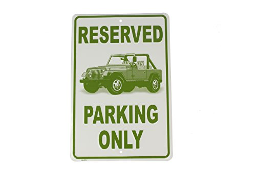 Price comparison product image Hangtime Jeep Parking Only