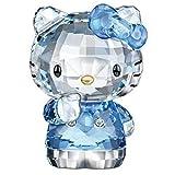 DFGDFG Crystal Dibujos Animados Gato Figurines Adorno Cat Aniaml Papel Papel Papel Papel Regalo Boda Interior Multicolor, Favor Favor Regalo (Color : Blue)