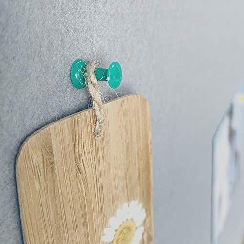 BEST BOARD Notice Board, Pin Board, Bulletin Board, Message Board, Fabric Board, Memo Board, Felt Board, Gray, 24 x 36 Inches, Silver Aluminum Frame Photo #6