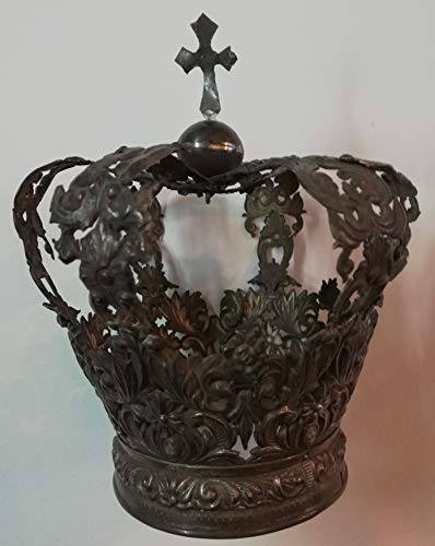 Desconocido Corona DE Plata para Virgen O NIO