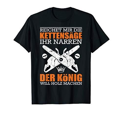 Holzfäller T-Shirt Waldarbeiter Geschenk Forstwirt Fun-Shirt