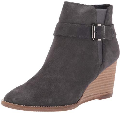 Blondo Women's Natalia Waterproof Ankle Boot, Dark Grey Suede, 11 M US