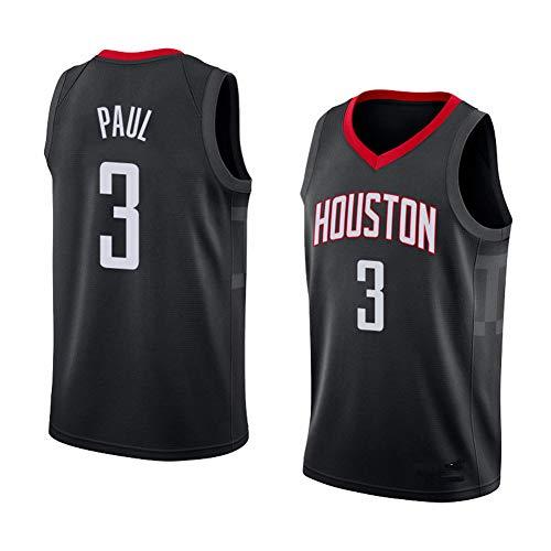 HS-Zak Miller Jersey De Baloncesto Masculino HOU Paul # 3 En