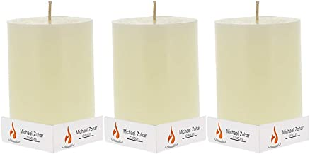 Michael Zohar Candles Gift Candles |Gift Box Pillar Candle Hand Poured , for Meditation, Spa, Yoga, Romantic Decorations |...