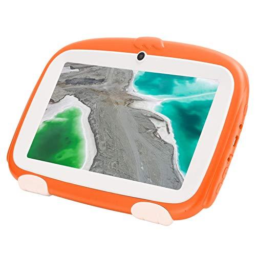 Tableta para niños, Android 9.0 de 1 GB + 16 GB con pantalla para protección de los ojos, tableta para niños pequeños con pantalla táctil de 7 pulgadas para aprendizaje educativo(UE (100-240 V))