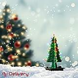 AZDelivery DIY LED Weihnachtsbaum Kit zum selber löten inklusive E-Book!