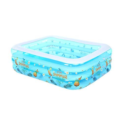 YULAN Haushalt Kinder aufblasbarer Swimmingpool Baby verdickte Baby Erwachsener überdimensionale Wärmedämmung Familie Ozean Bällebad (Size : 120×90×55cm)