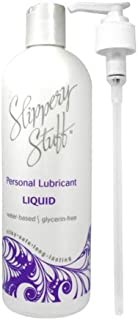 Wallace O Farrell Slippery Stuff Liquid Water Based Lubricant, 16 Ounce