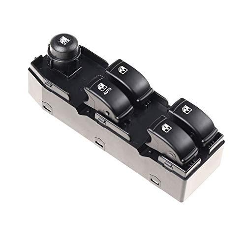 KUANGQIANWEI Botonera elevalunas Interruptor de Ajuste de la Ventana Delantera Izquierda del Levantador for Chevrolet Optra en Forma for el Ajuste for el Lacetti 96552814