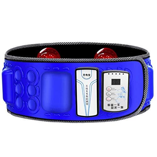 RXL-Gürtel abnehmen Schüttelmaschine, die die Maschine abnimmt die Riemenheizung abnimmt, die Fettes brennendes Gewichtsverlustinstrument auflädt (Farbe : Blau)