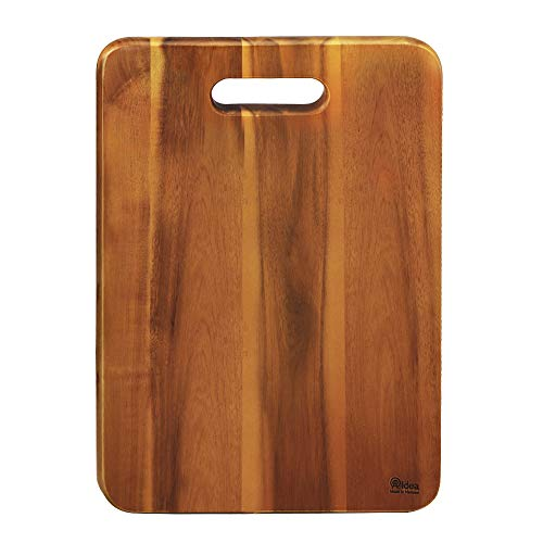 Wood Cutting Board, AIDEA 1- Piece 16Inch Acacia wood Chopping Boards for Kitchen, Knife-friendly Wooden Cutting Board Best for Chopping Meat/Vegetables and Fruits - Best Christmas Gift (1 Piece)