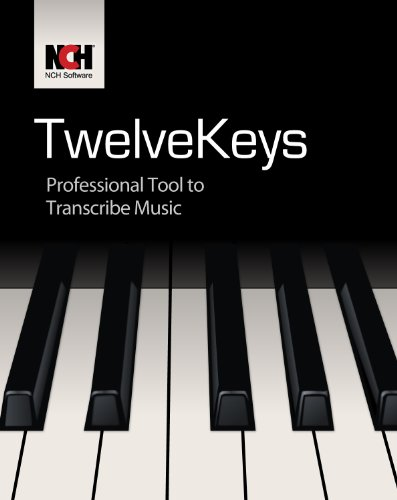TwelveKeys Music Transcription Software Assists Musicians to Transcribe Music [Download]