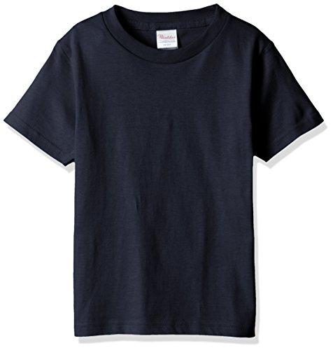 プリントスター 半袖 5.6オンス へヴィー ウェイト Tシャツ 00085-CVT キッズ ネイビー 日本サイズ 150cm