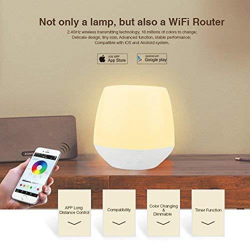 Mi-Light® Bombilla Lámpara USB iBox1 Wifi RGB LED 2W 2.4G RF Multicolor Regulable