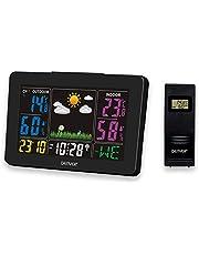 Denver WS-540 Weerstation met buitensensor, alarmfunctie en kleurendisplay, meting van temperatuur en luchtvochtigheid