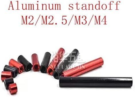 10 stkspartij M2 m25 m3 m4 Ronde Aluminium Standoff Kolom staven Ronde Aluminium Spacer voor RC multirotorsREDM4 10 STKS