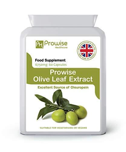 Extracto hoja olivo 6750 mg - 60 cápsulas Por Prowise