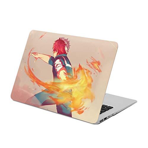 New Air13 Hard Shell Protective Case Japanese Anime My Hero Academia Kacchan Stylish Waterproof MacBook Hard Shell Case Durable 360 Protective Laptop Case