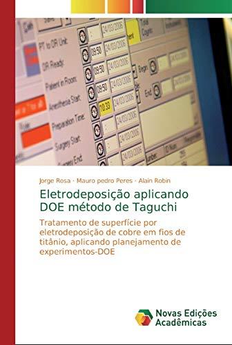 Eletrodeposição aplicando DOE método de Taguchi: Tratamen