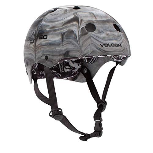 PRO-TEC/プロテック CLASSICSKATE HELMET VOLCOM COSMIC MATTER スケートヘルメット SKATEBOARDS SK8用 大人用 ボルコム(L)