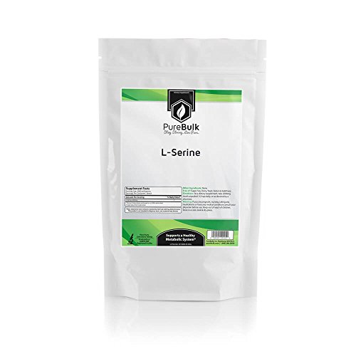 PureBulk L-Serine Container:Bag Size:1kg Powder