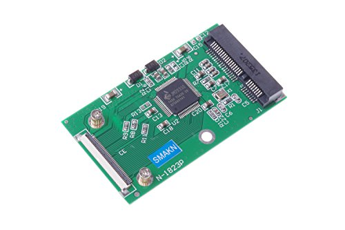 SMAKN Mini mSATA PCI-E SSD to 40pin ZIF CE Cable Adapter Card