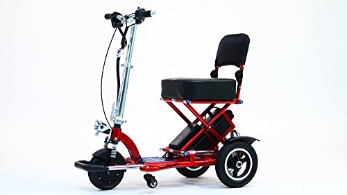 Triaxe Sport Foldable Scooter - Color Metallic Red - 13