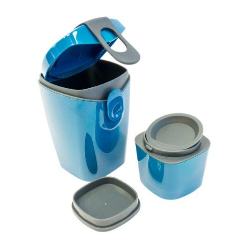 Unikia Lunchbox ComplEAT Energy Booster Kunststoff auslaufsicher/mikrowellengeeignet/spülmaschinengeeignet eckig ComplEAT