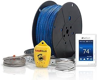 Coverage Ft nVent N1C025 Orange Standard FG0604 NUHEAT Cable 120V-25 Sq