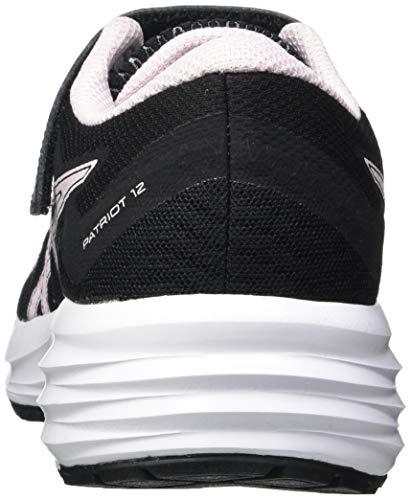 ASICS Patriot 12 PS Running Shoe, Black Pink Salt, 2.5 UK