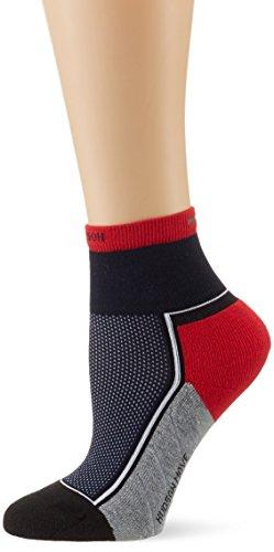 Hudson MOVE Damen Socken, Sportsocken, 100 Den, Blau (Marine 0335) 35-38